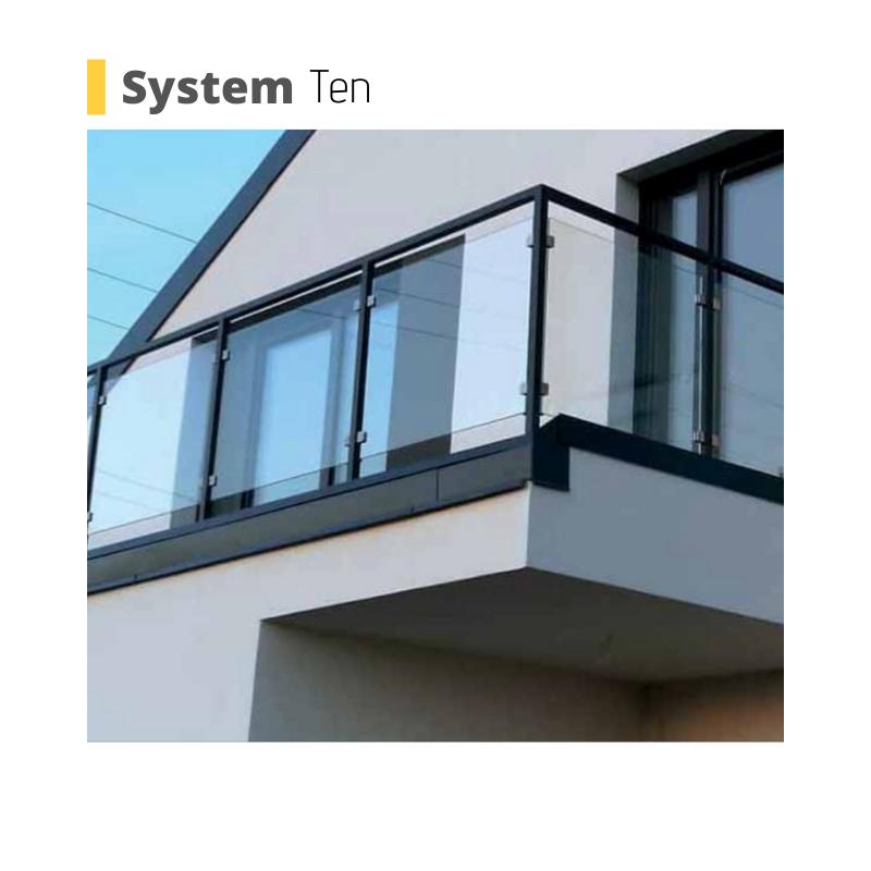 balcony balustrade system