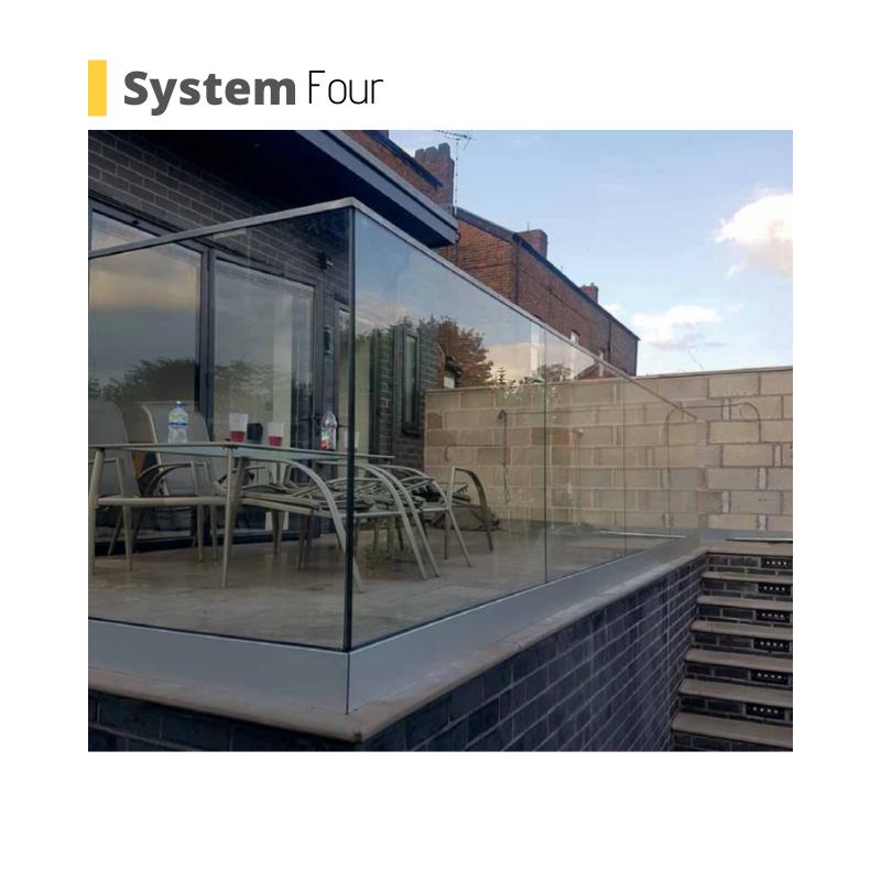 frameless balustrade system