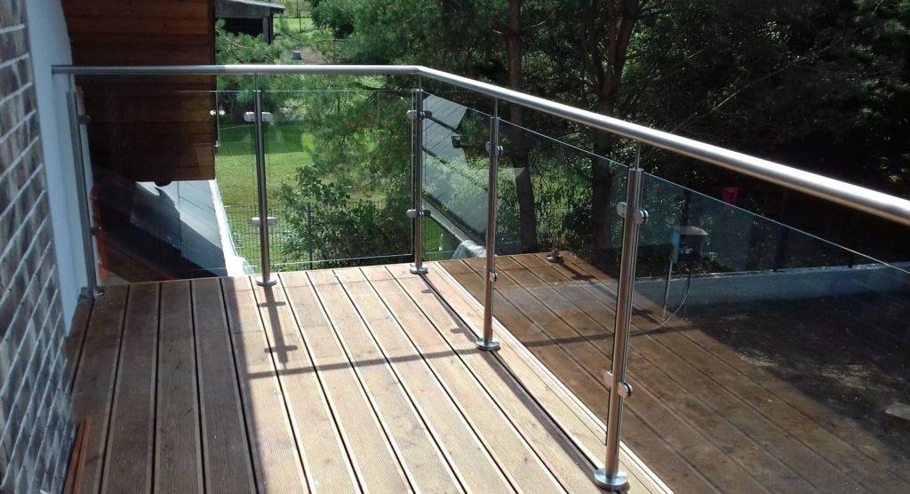 framed balustrade system