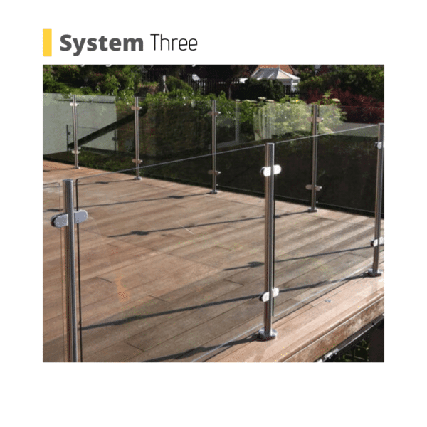 Bournemouth glass balustrade system uk