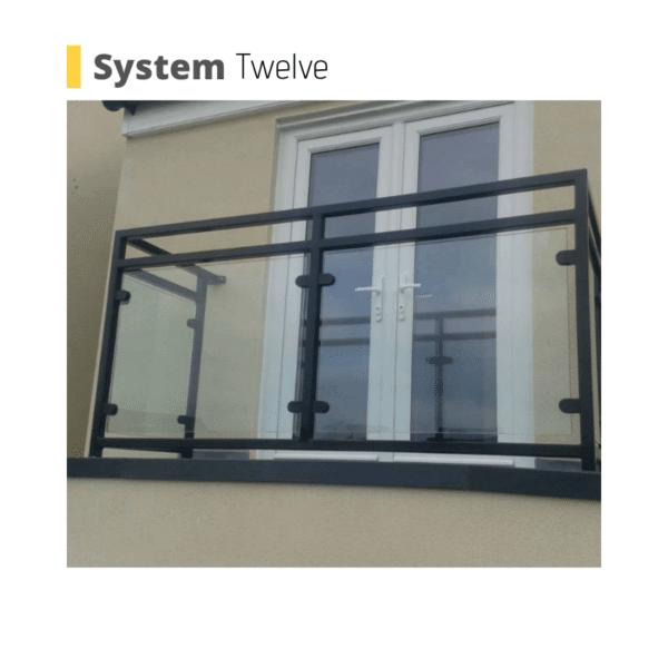 Poole glass balustrade balcony system uk