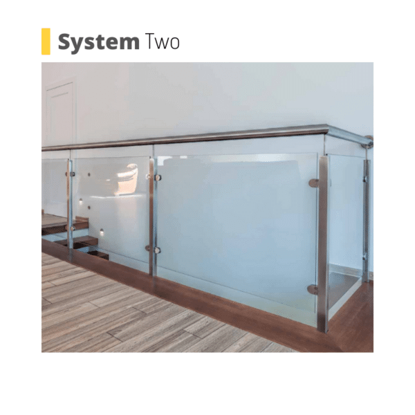 poole glass balustrade system