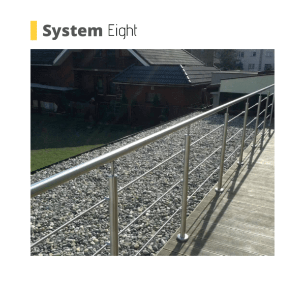 poole wire glass balustrade system