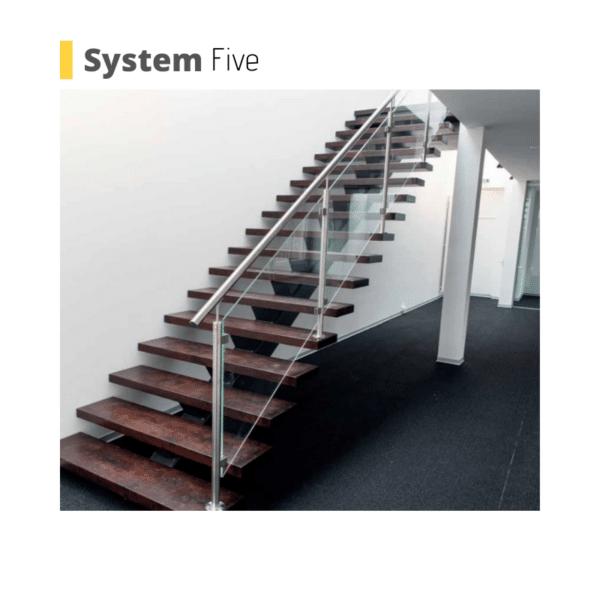 london modern stairs